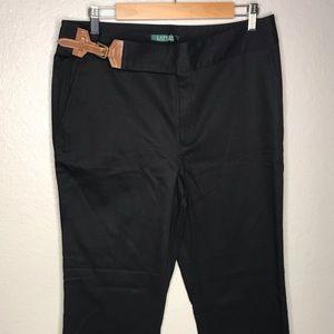 Ralph Lauren Women's Black Pants Slacks New 12
